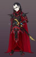 Druchii Commission 2 - Varin Blackthorn by AnimeGirlMika