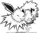 Inktober - Day Thirty: JOLT by AnimeGirlMika