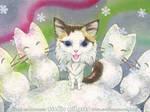 Snow Bear by AnimeGirlMika