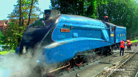 LNER 4464 at Paignton by The-Transport-Guild