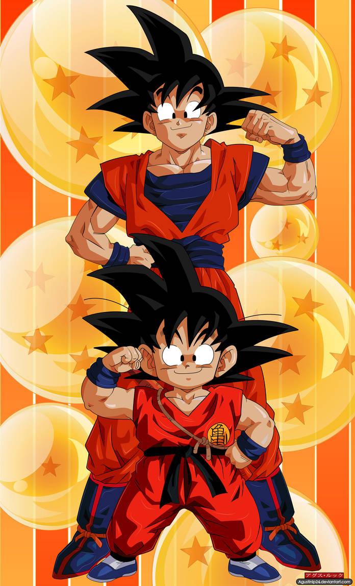 Kid/Adult Goku by agustinlp24 on DeviantArt