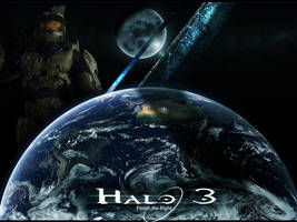 Halo 3 Wallpaper by silverspoon102