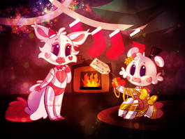 Christmas Heart SISTER LOCATION by Marie-Mike
