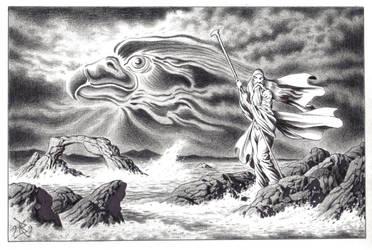 Prophet of Eagles, Prophet of Waves by Mythvoyager