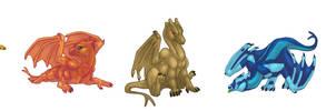 Pern Dragonets by bricu