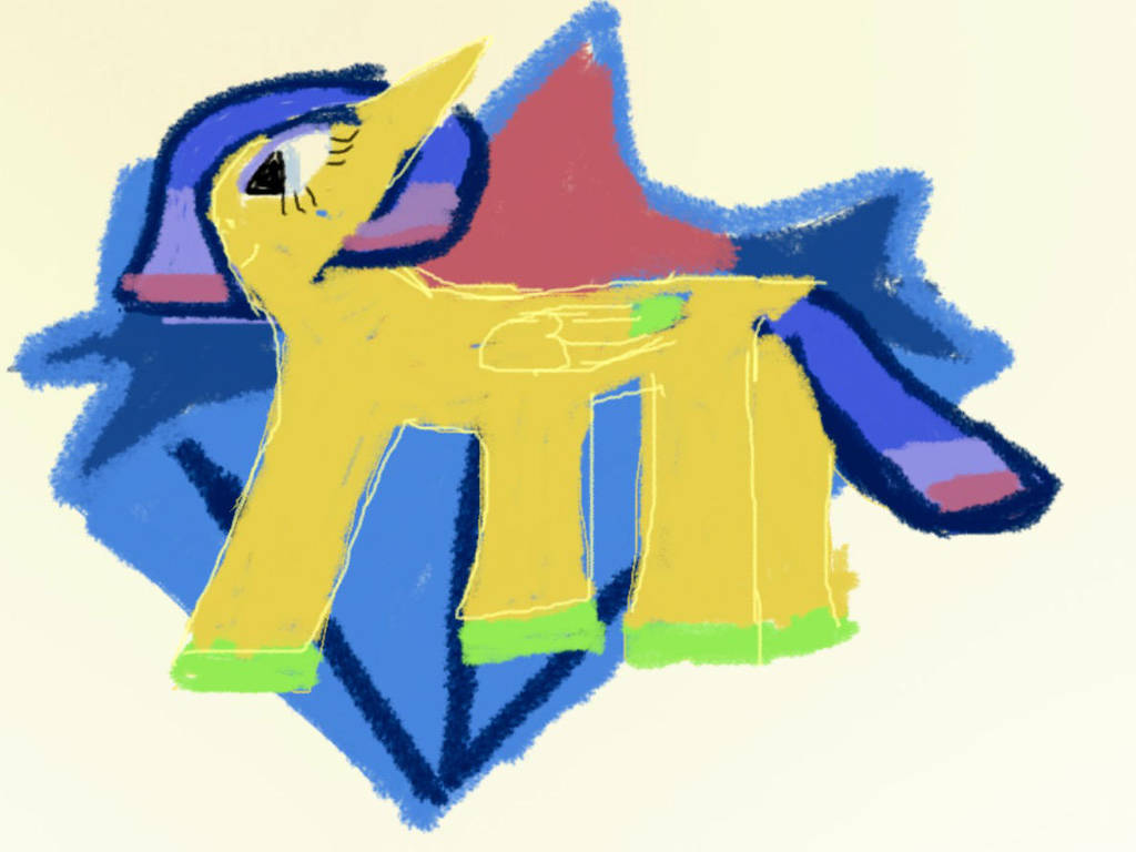 Stella Burst drawing by cyanamethyst