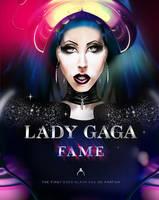 Lady Gaga Fame Digital Drawing 2 by Madonna1250