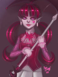 Monster High - Draculaura by peeps4tea