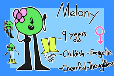 Melony by ZDragonLover