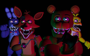 C4D FNAF UnWithered Pack Download by DevonFnaf
