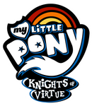 My Little Pony : Knights of Virtue Logo by Antone-t62newo