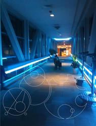 The TARDIS Corridors - Gallifreyan by FeatherWings1638