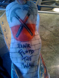 Pink Floyd- The Wall shoes-1 by Zwid