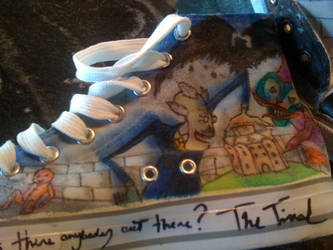 pink Floyd- The Wall shoes-5 by Zwid
