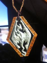 Skyrim Pendant by Zwid