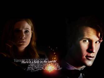 Doctor and Amy by Julushko-navara