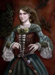 Magic woman by Narog-art