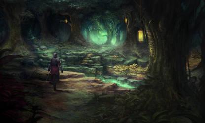 Exploring by Narog-art