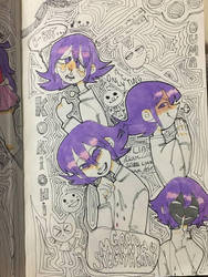 purp gremlin by cowgf