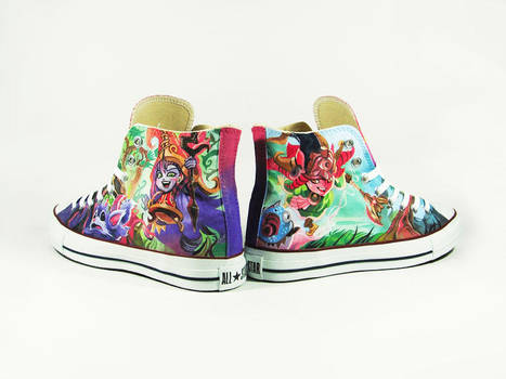 40ec2dd40d20 League of Legend Custom Converse Chucks custom shoes