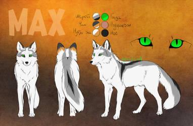 Reference Max by KatyushkaWolf