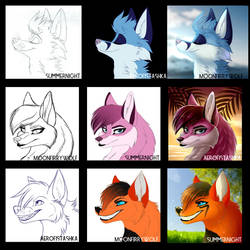 Fox collab by KatyushkaWolf