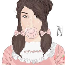 Sarah Silverman - Crybaby by MrSynn