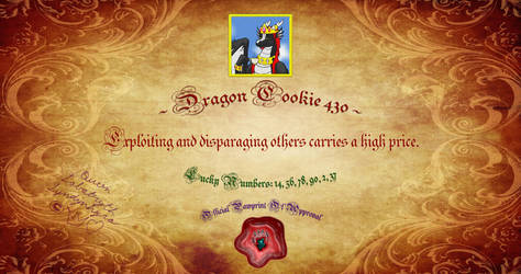 Dragon Cookie 430 by Labatryth