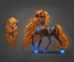 Autumn Horse by any-s-kill