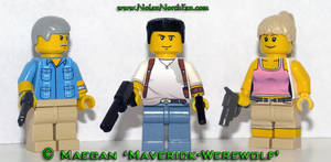 LEGO Uncharted: Drake's Fortune Minifigs by Maverick-Werewolf