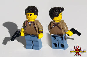 LEGO Uncharted 2: Among Thieves - Improved Nate by Maverick-Werewolf