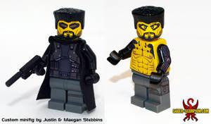 LEGO Deus Ex: Human Revolution Adam Jensen Minifig by Maverick-Werewolf