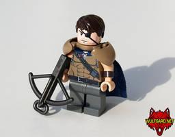 Wulfgard - Caiden Voros LEGO Minifig by Maverick-Werewolf