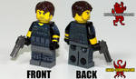 LEGO Resident Evil 6 - Chris Redfield by Maverick-Werewolf