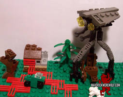 LEGO War of the Worlds (2005) - Mini Tripod by Maverick-Werewolf