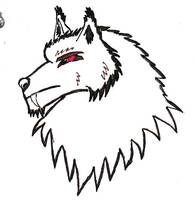 Wrognoth Bust Doodle 02 by Maverick-Werewolf
