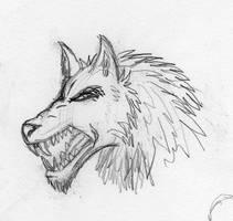 Werewolf (Stylized) by Maverick-Werewolf