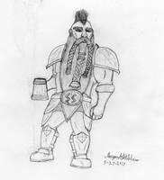 Sketch - Agni Bloodrune by Maverick-Werewolf