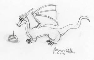 Birthday Munchkin Dragon by Maverick-Werewolf