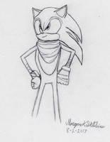 Sonic the Hedgehog (Sonic Boom) sketch by Maverick-Werewolf