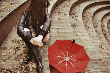 Waiting for the rain by AlexAidonidis