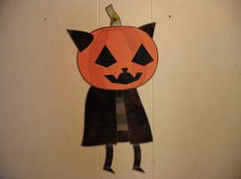 Pumpkin Head Guy by tymime