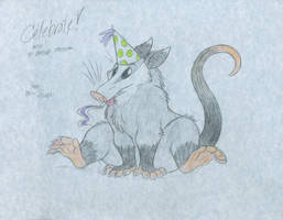 'Possum Birthday by tymime