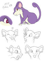 Rattata by tymime
