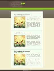 wordpress kevin blog v1 by LeMex