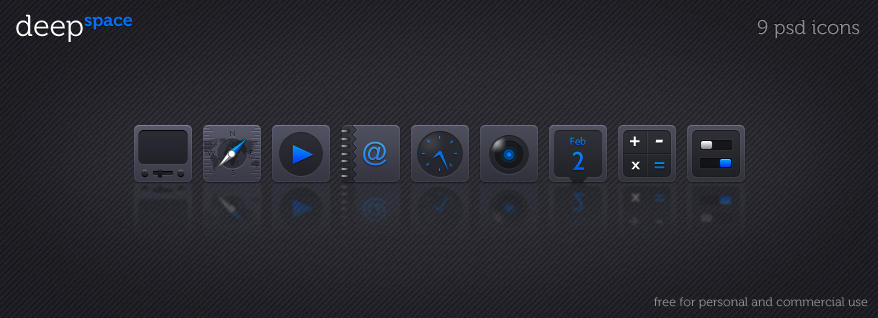Deep Space 9 icons psd by LeMex