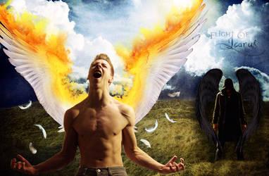 Flight Of Icarus by cripp89