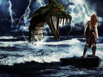 Thunder God by cripp89