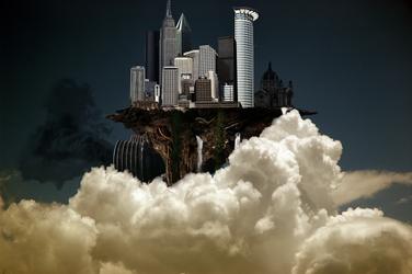 Flying City by cripp89