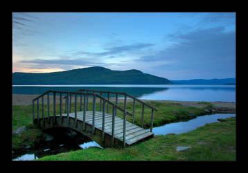 Footbridge by AlienShore